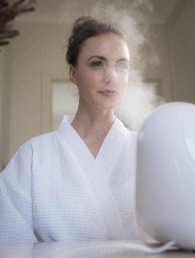 Homedics Ion Facial Sauna FCS-100 White/Pink