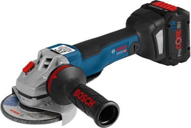 Bosch GWS 18V-10 PC Cordless Angle Grinder with 2x5Ah Batteries/1880CV