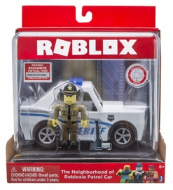 Roblox Figurine The Neighborhood of Robloxia Patrol Car Set