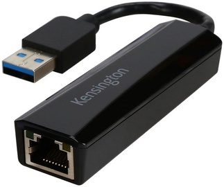 Kensington K33981WW USB3.0 To RJ45 Adapter Black