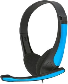 Ausinės FreeStyle FH4088O Universal Headset w/Microphone Black/Blue