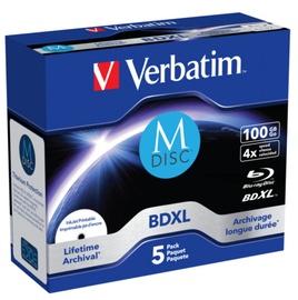 Комплект дисков Verbatim 43834, 100 GB