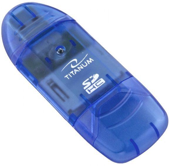 Esperanza Titanum Card Reader TA101 USB 2.0 Blue