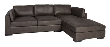 Home4you Malena Corner Sofa Right Side Grey