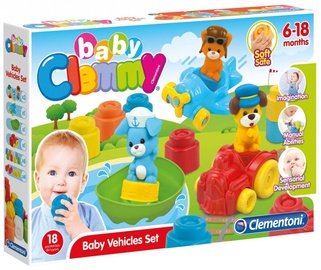 Clementoni Clemmy Baby Vehicles Set 17202