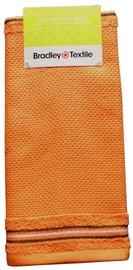 Virtuves dvielis Bradley Wafer Orange, 40x60 cm