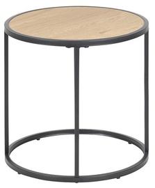 Kafijas galdiņš Home4you Seaford Oak, 450x450x430 mm