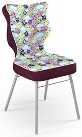 Детский стул Entelo Solo Size 5 ST32 Grey/Purple, 390x390x850 мм