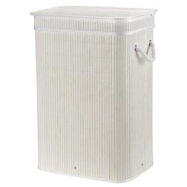 Galicja Plastic Laundry Basket 72l White