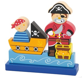 Viga Magnetic Standing Puzzle Pirate 50077