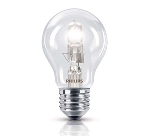 Halogeninė lempa Philips A55, 53W, E27, 2800K, 850lm
