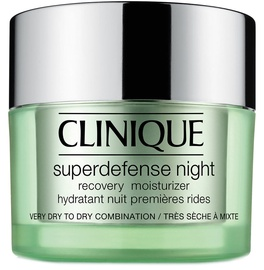 Крем для лица Clinique Superdefense Night Recovery Moisturizer Dry, 50 мл