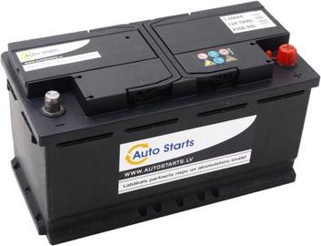 Аккумулятор Auto Starts, 12 В, 100 Ач, 830 а