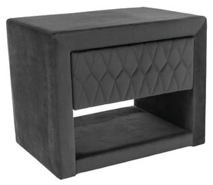 Signal Meble Azurro Nightstand Dark Gray