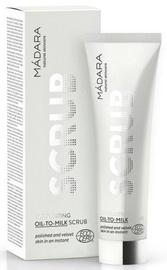 Veido odos šveitiklis Madara Exfoliating Oil To Milk Scrub, 60 ml