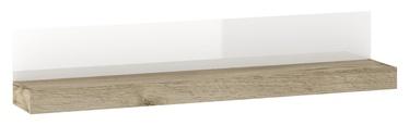 Plaukts Tuckano PH-140 Warsaw Shelf 1400x260x200mm Oak/White