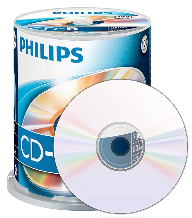 Philips CD-R80 Spindle 100pcs