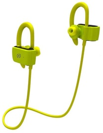 Ausinės Celly Sport Pro Yellow, belaidės