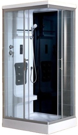 Vento Sicilia II Massage Shower Left 100x215cm