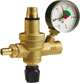 Afriso 42406 FAM Valve with Manometer 1/2""