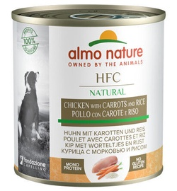Almo Nature HFC Dog Food Chicken & Carrots & Rice 280g