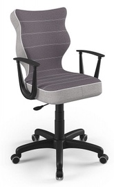 Детский стул Entelo Norm CR07, черный, 375 мм x 1010 мм