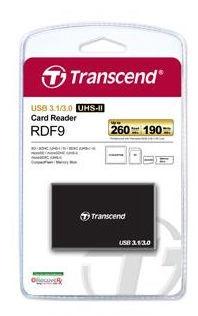Transcend Card Reader All-in-1 UHS-II Black