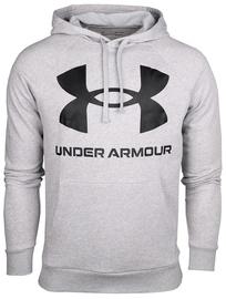 Under Armour Rival Fleece Big Logo Hoodie 1357093-011 Grey M