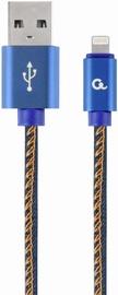 Gembird USB To Lightning Premium Denim Blue 1m