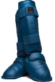 Matsuru Karate Shin Foot Protector WKF M Blue