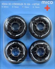 Mico Plus Wheels 72mm 4pcs