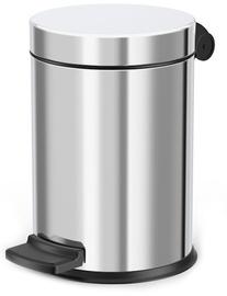 Hailo Solid S Garbage Bin 4l Stainless Steel