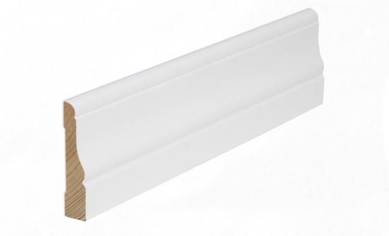 Uksepiirdeliist Kombi 15x70mm valge 2,2m