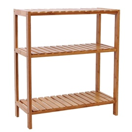 Songmics Bamboo Shelf 60x26x66cm