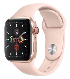 Išmanusis laikrodis Apple Watch Series 5 40mm GPS Gold Aluminium Case with Pink Sand Sport Band Cellular