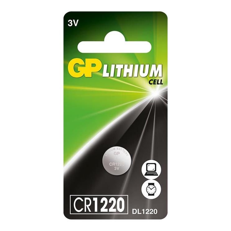 LITIJA BATERIJA GP CR1220 3V