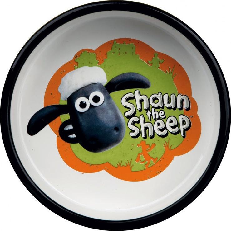 Trixie Shaun the Sheep Ceramic Bowl Orange 300ml