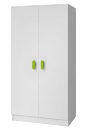 Idzczak Meblee Smyk 06 2D Wardrobe White/Green