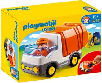 Playmobil 1-2-3 Recycling Truck 6774