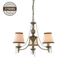 Светильник Domoletti Verona MD6127-3 3x40W Brass