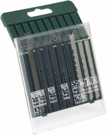 Bosch 2607019460 Jigsaw Blade Set 10pcs