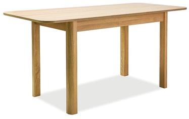 Обеденный стол Signal Meble Diego II, дубовый, 1600x680x750мм