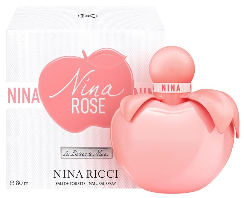 Tualettvesi Nina Ricci Nina Rose 80ml EDT