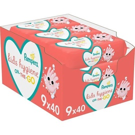 Влажные салфетки Pampers Kids Hygiene, 360 шт.
