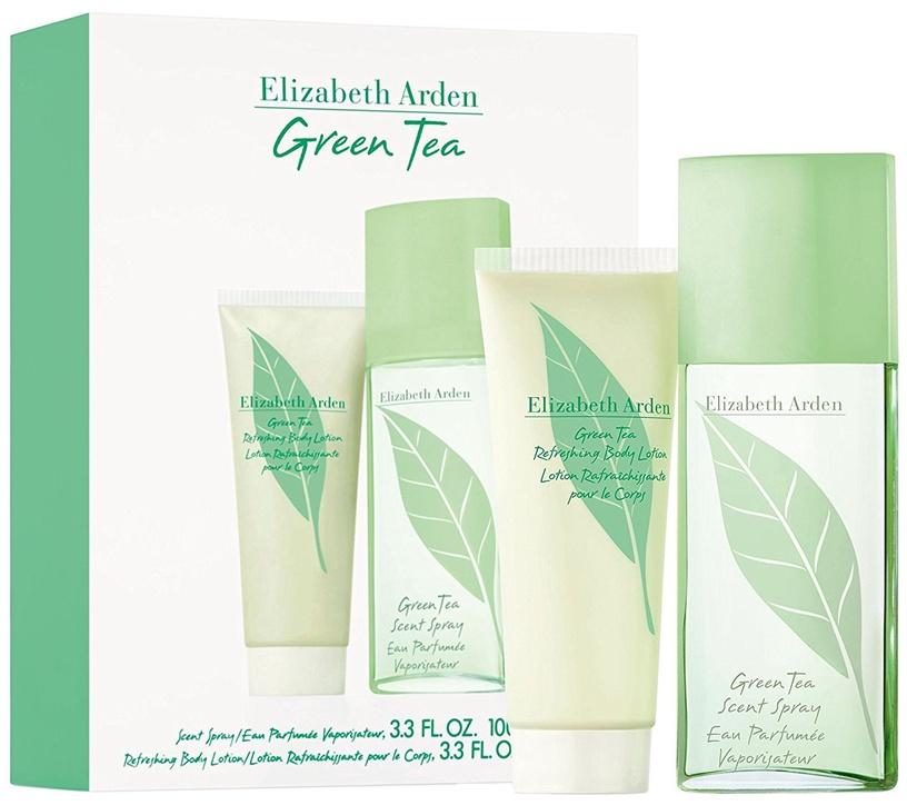 Набор для женщин Elizabeth Arden Green Tea 100 ml EDP + 100 ml Body Lotion