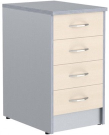 Skyland Imago TP-4K1 Cabinet 40.7x73.3x45cm Maple/Metallic