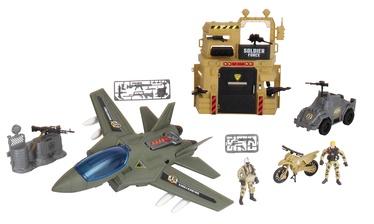 Žaislinė figūrėlė Chap Mei Soldier Force Bunker Air Attack Set 545063