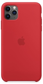 Apple Silicone Back Case For Apple iPhone 11 Pro Max Red