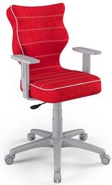 Детский стул Entelo Duo Size 6 VS09, красный/серый, 400 мм x 1045 мм