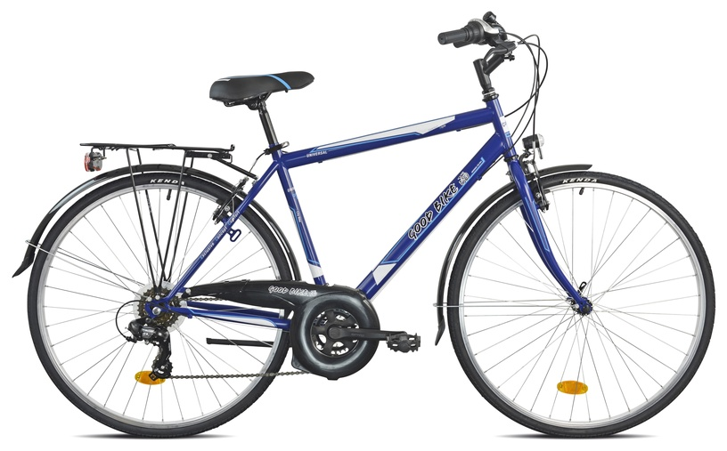 "Velosipēds Bottari Good Bike Oxford, zila/pelēka, 19.5"", 28"""